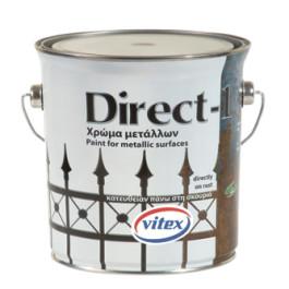 БЫСТРОСОХНУЩАЯ КРАСКА ПО РЖАВЧИНЕ DIRECT-1