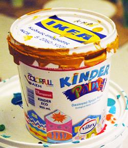 краска kinder paint