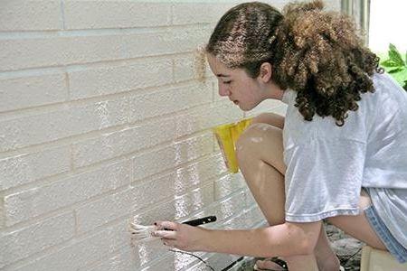краска для фасадного кирпича