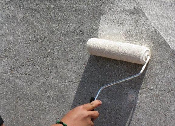 краска по бетону