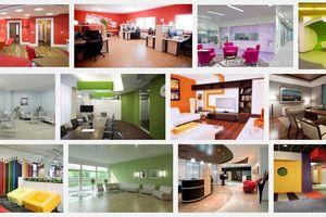 Цветовое оформление современных офисов