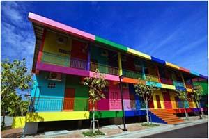 Цвет в современных жилых комплексах