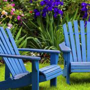 Матовая эмаль для садовой мебели PLATINUM на основе растворителя
