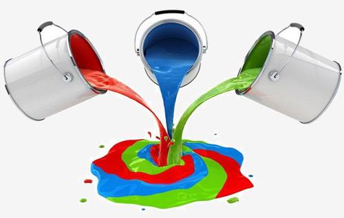 Краски на растворителе