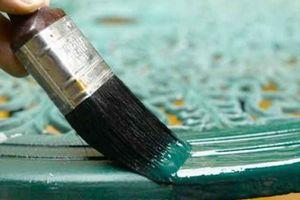 краска по металлу не затвердевает