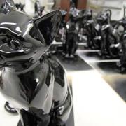Черная глянцевая спрей-краска Spray acrylic paint