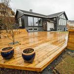 Защита деревянной террасы