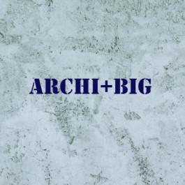 Штукатурка с имитацией грубого бетона ARCHI+ Big