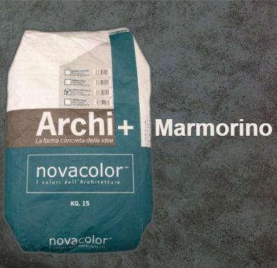 Штукатурка с эффектом полированного мрамора ARCHI+ Marmorino