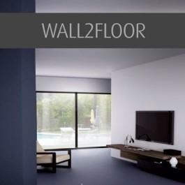 Штукатурка с имитацией панельного бетона WALL2FLOOR Top Coat