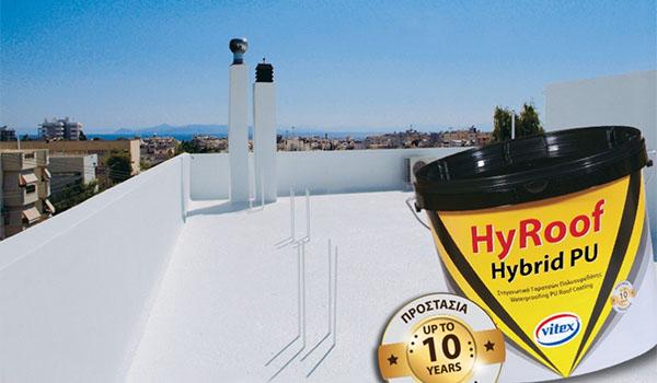 Краска для крыши HYROOF HYBRID2